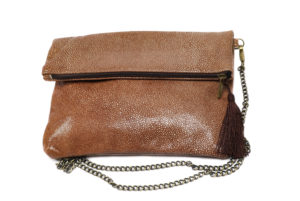 Brown Moroccan clutch